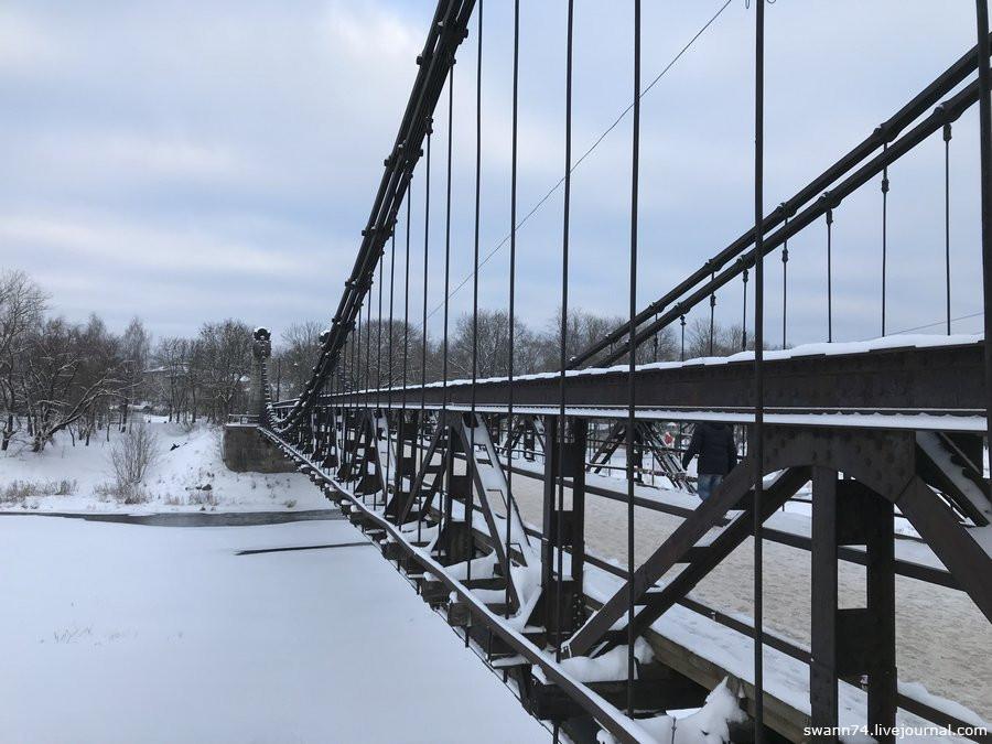 Город Остров, Псковской области. Январь 2019 года.