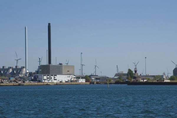 Копенгаген, порт.