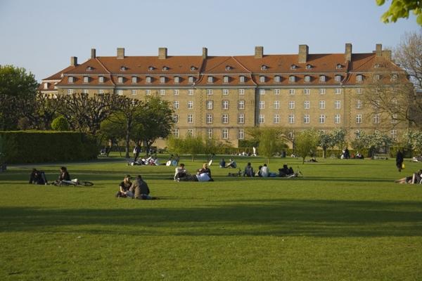 Копенгаген, королевский парк.