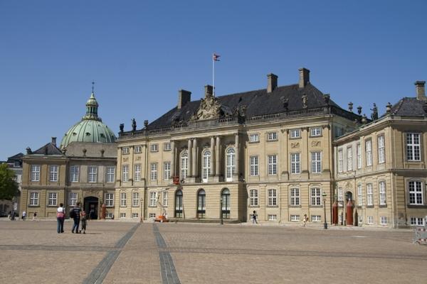 Копенгаген, Амалиенборг.