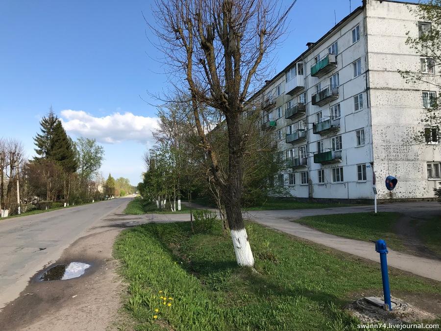 Поселок Батецкий, Новгородская область, май 2019