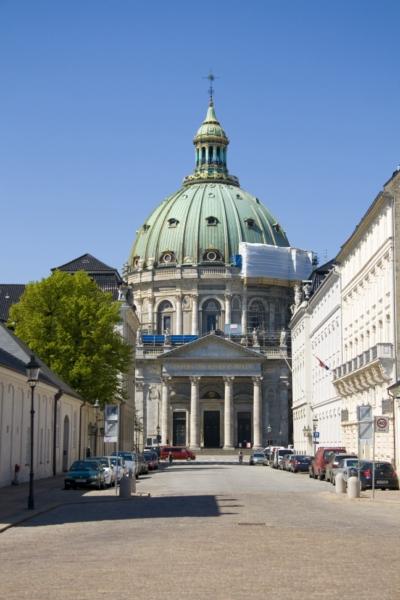 Копенгаген, Мраморная церковь.