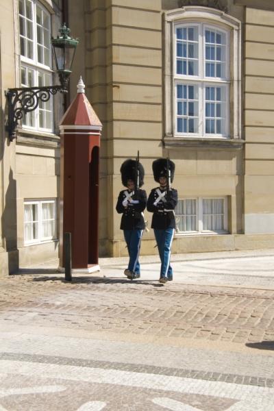 Копенгаген, королевские гвардейцы.
