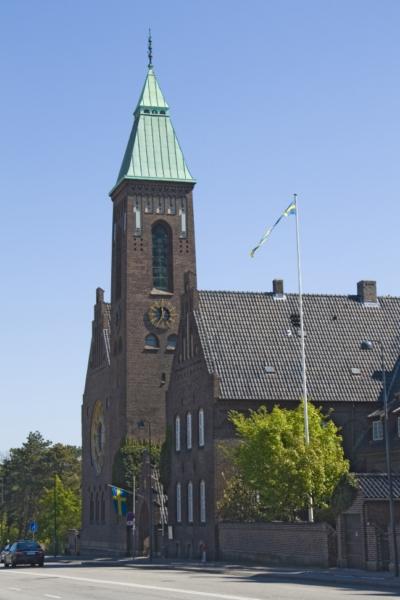 Копенгаген, шведская кирха.