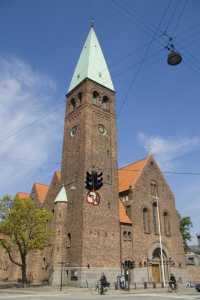 Копенгаген, церковь Святого Андреаса.