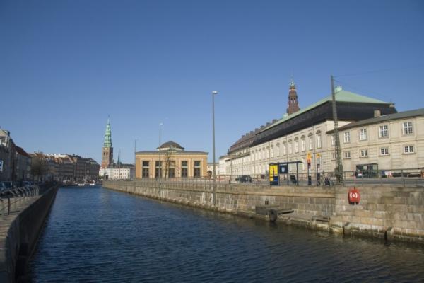 Копенгаген, остров Слотсхолм.