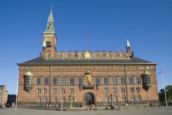 Копенгаген, ратуша.