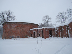 Баболовский дворец. Январь.
