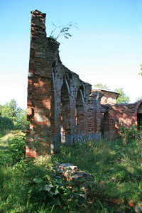 Баболовский дворец. Август.