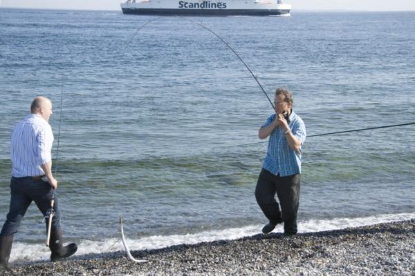 Рыбаки, Дания.