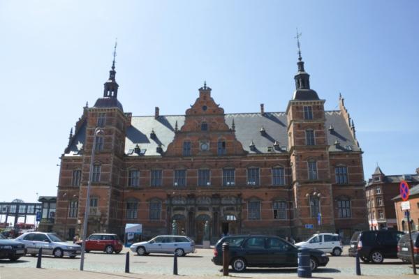 Вокзал в Хельсингёре.