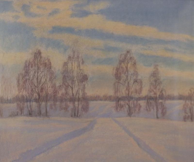 Геннадий Сальков. Зимний день.
