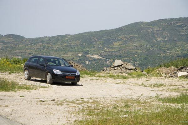 В горах Кипра.