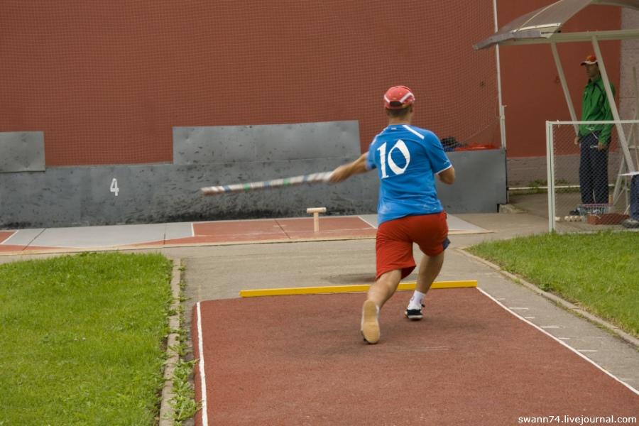 Чемпионат мира по городкам - 2011, Петропавловская крепость, Петербург