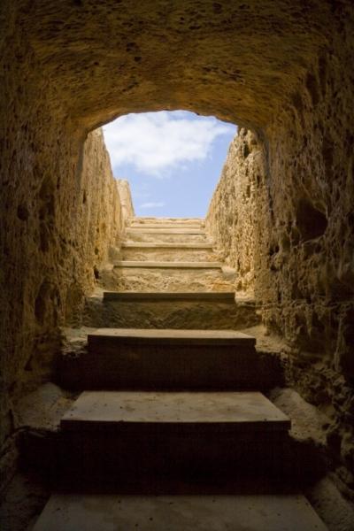 Гробницы царей в Пафосе, Кипр.