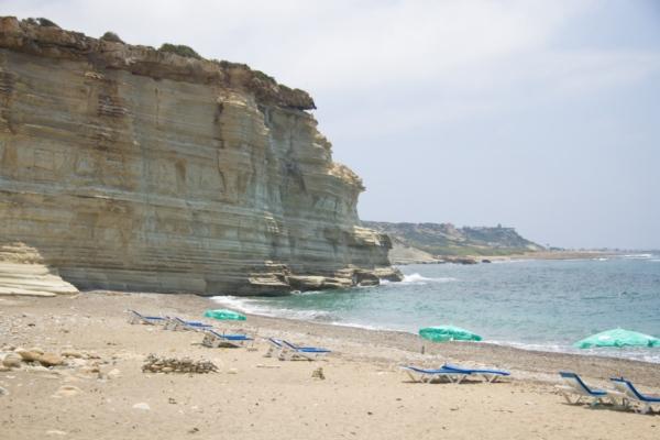 Побережье у Агиос Георгиос, Кипр.