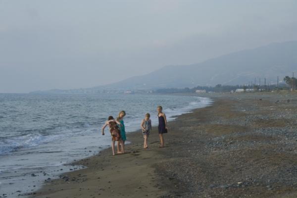 Кипр, побережье вблизи Полиса.
