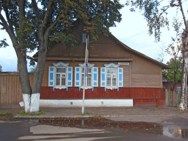 Витебск, деревянный дом.