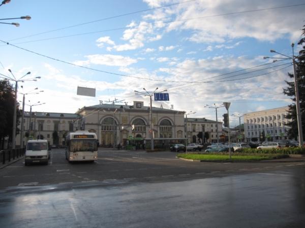 Витебск, железнодорожный вокзал.
