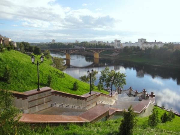 Витебск, Кировский мост.