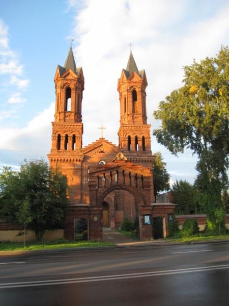 Витебск, костёл Святой Барбары.