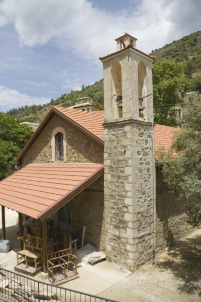Церковь в деревне Каминария, Кипр.