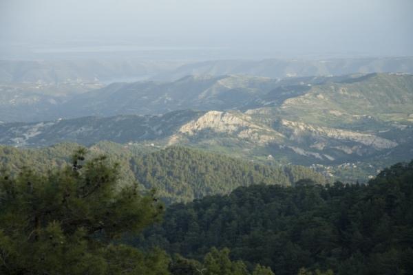 Троодос, Кипр.