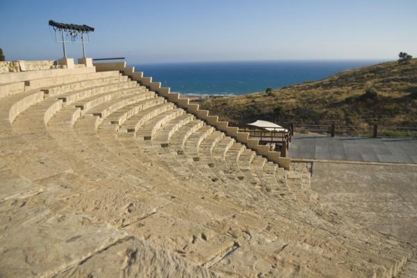Кипр, развалины города Курион.