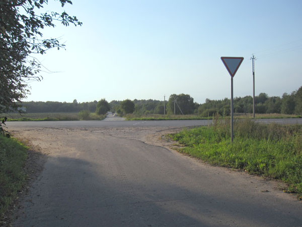 Место боя Зиновия Колобанова в Учхозе, август 2011 года.