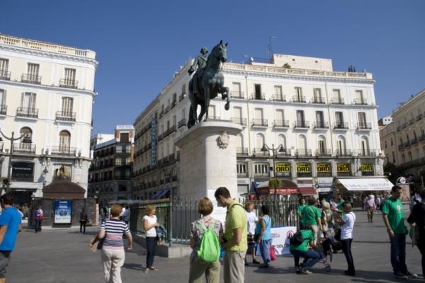 Пуэрта Дель Соль, Мадрид