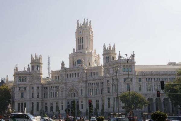 Дворец Сibeles, Мадрид