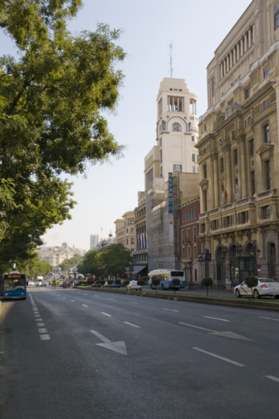 Улица Alcala, Мадрид