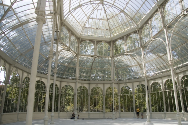 Парк Ретиро, Palacio de Cristal, Мадрид