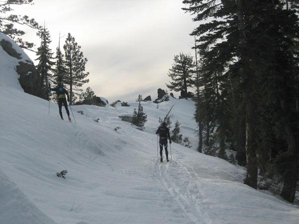 лыжи в Калифорнии