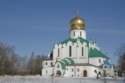 Федоровский Собор, Пушкин, март 2012.