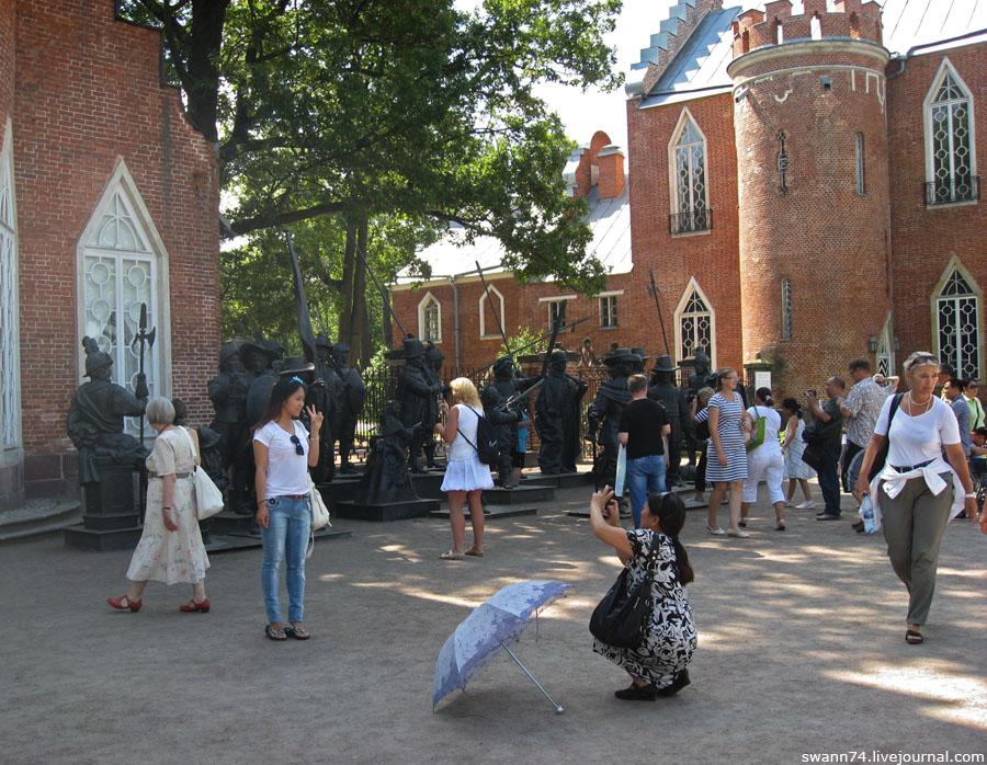 Живопись 3D в Царском Селе.