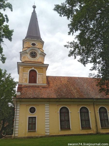 Лютеранская Церковь Святой Екатерины, Выру, Эстония