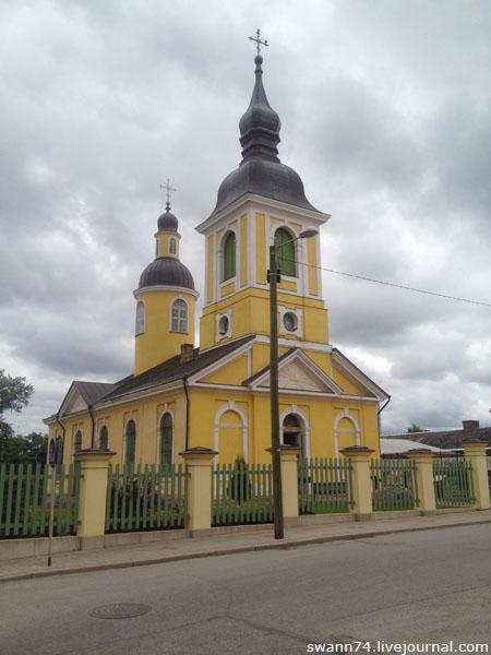 Православная Церковь Святой Екатерины, Выру, Эстония