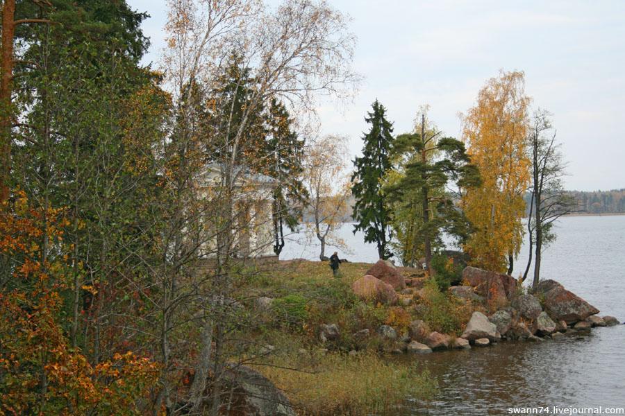 Выборг, парк Монрепо, октябрь 2012 год.