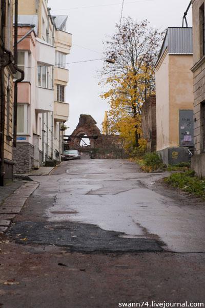 Выборг, октябрь 2012 год.