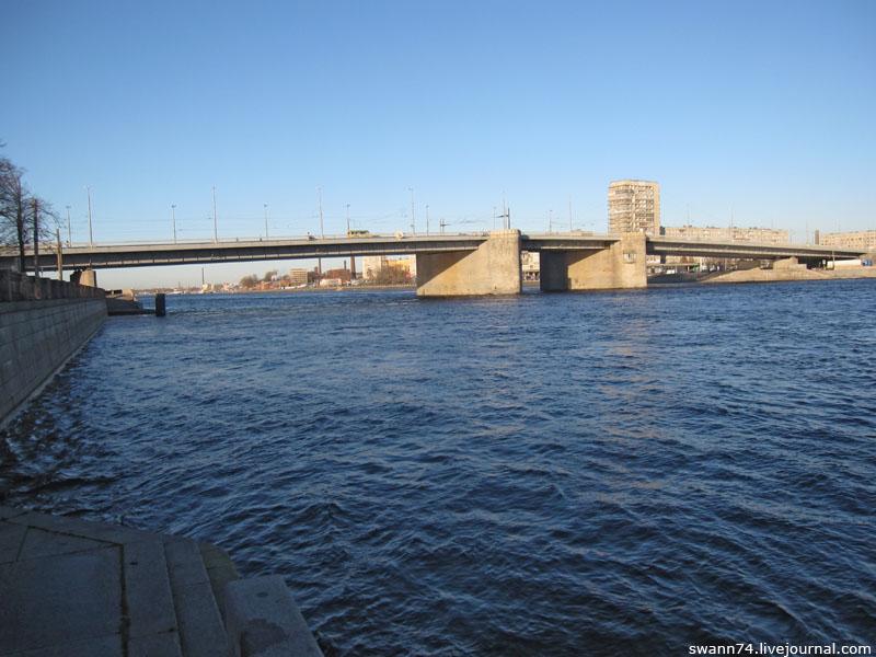 Володарский мост, Петербург, ноябрь 2012
