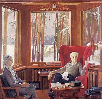 Matthew d innis - color palettes: nicolai ivanovich fechin (1881-1955)
