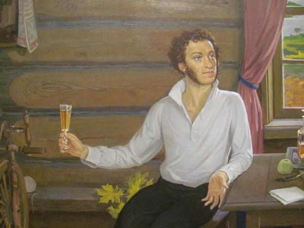 сочинение по картине пушкин в михайловском
