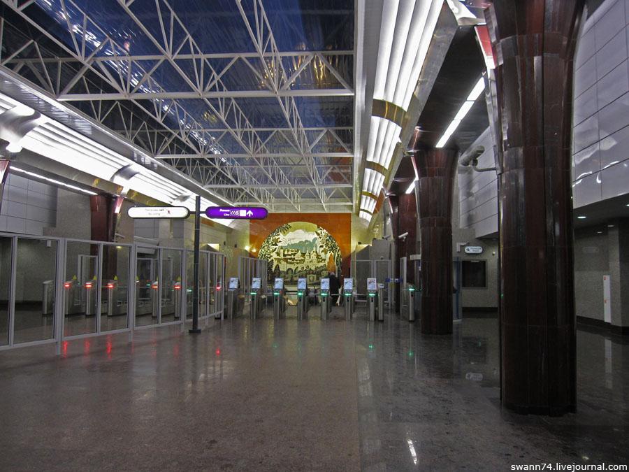 Станция метро Бухарестская.