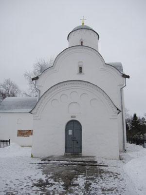 Церковь Успения на Волотовом поле.
