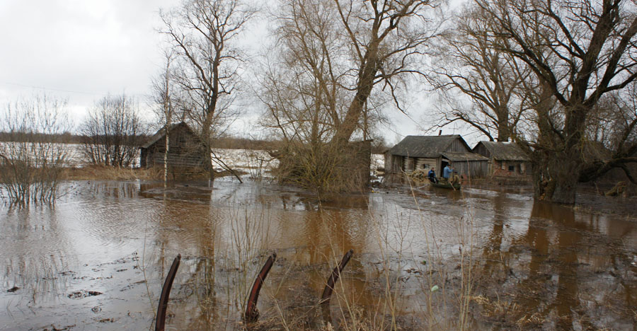 Холынья, паводок 2013 года