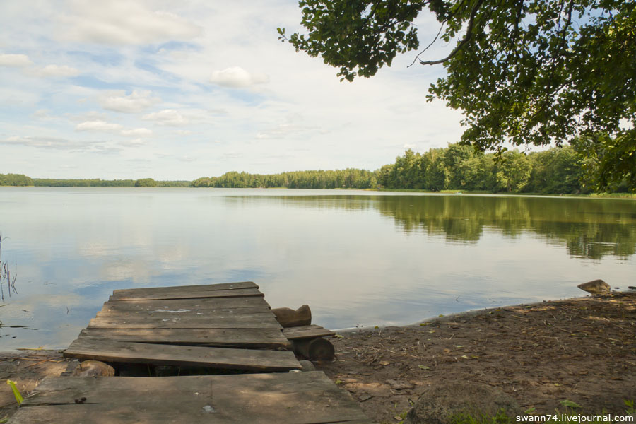 Озеро Баклановское, Смоленская область, Демидовский район