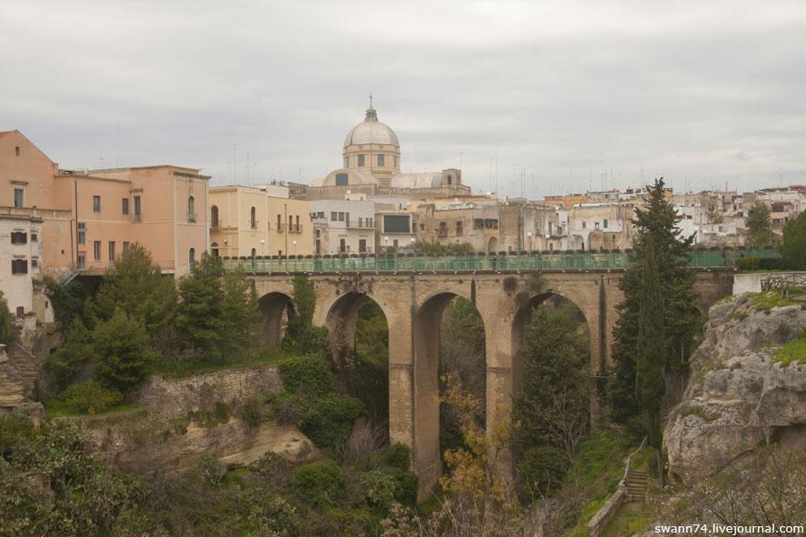 Город Массафра, Италия, регион Апулия