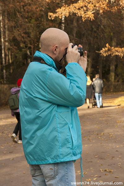 Павловский парк, октябрь 2013 года