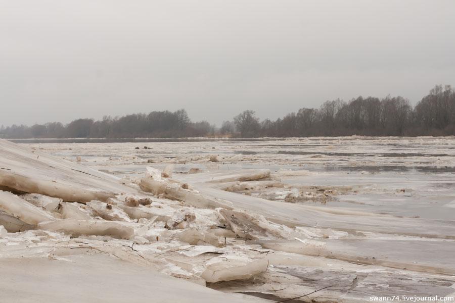 Река Мста, 5 января 2014 года